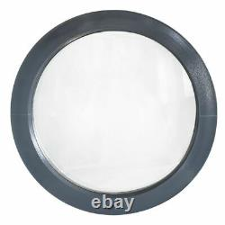 Round window FIXED Anthracite Grey 500 550 600 650 700 800 900 mm uPVC colour