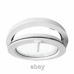 Round window TILT white 500 550 600 650 700 800 900 1000 mm uPVC hopper porthole