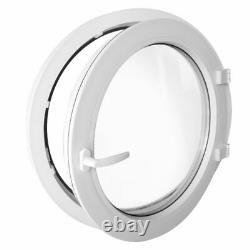 Round window TURN White uPVC 550 600 650 700 750 800 900 1000 1100 1200 mm