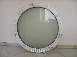Rundfenster Fest 80cm 3 fach Glas SATINATO