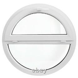 Rundfenster Kipp + Fest Weiß / VEKA Ausmaß 80cm 90cm 100cm 110cm 120cm