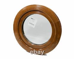 Rundfenster Kunststofffenster Golden Oak oder Nussbaum 1 Seitig Aussen! KIPP