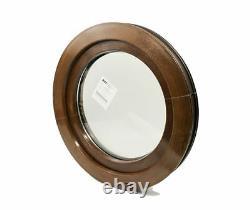 Rundfenster Kunststofffenster Golden Oak oder Nussbaum 2 Seitig! KIPP