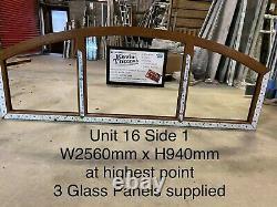 UPVC Arched Window fully glazed (unit 16)