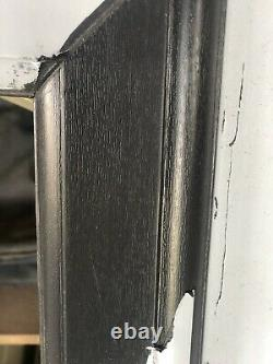 UPVC GREY Out WHITE Inside Single Opening Window 460 X 1010 mm NEW Wood grain