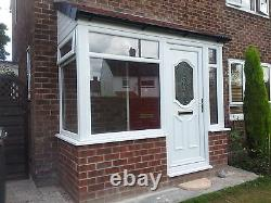UPVC Porch Supplied & Fitted In White Only £2800.00