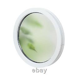 UPVC -Window Round FIX circular FROSTED glass Double Glazed VEKA PVC