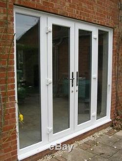 Upvc 2400 2100 French Door With Side Panels Supplied & Fitted Only £940.00