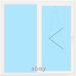 VEKA PSK Parallel-Schiebe-Kipp-Tür 82 MD, Glas 0,5 Weiß