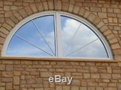 VEKA Rundbogenfenster 3m x 1,5m