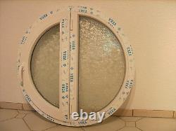 VEKA Rundfenster Dreh Links Festverglasung Rechts