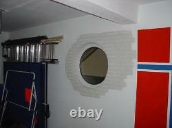 VEKA Rundfenster Festverglasung 90cm