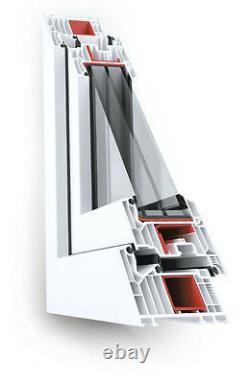 VEKA Softline 82 Rundfenster Festverglasung 95cm