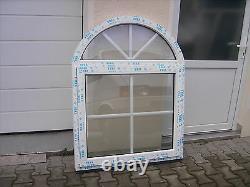 VEKA Stichbogenfenster