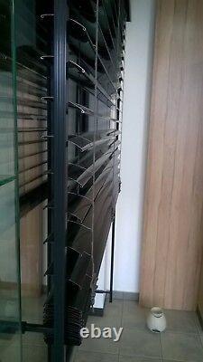 Veka Fenêtre Terasse Porte Avec Stores Extérieurs Stores Vénitiens C-Lamellen