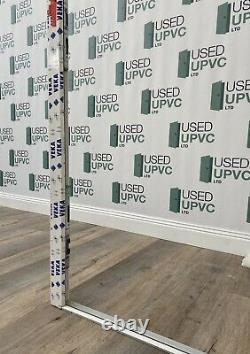 Veka Upvc Pvcu Back Entrance Door-white-decorative Glass-all Glass-new-external