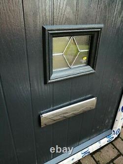 Veka composite anthracite door brand new quality very heavy duty inc hardware