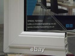 White PVCU double glazed windows, white handle, A rated, Made to order available