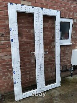 White Upvc french doors BRAND NEW